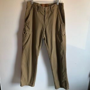 Tan ClearWater Outfitters Mens Cargo Pants W30xL30